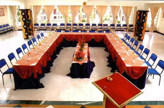 Banquet Room of Radhika Beach Resort