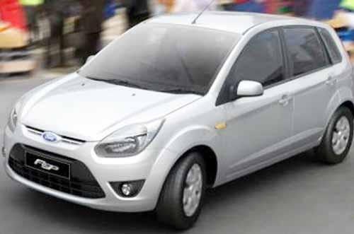 Silver Coloured Figo