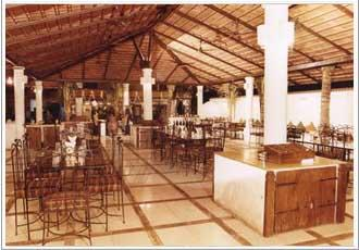 Restaurant at Silver sands beach resort