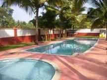 Swimming Pool at Parumpara Holiday Resort, Coorg