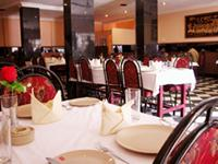 Dining facilities in Hotel Pandian