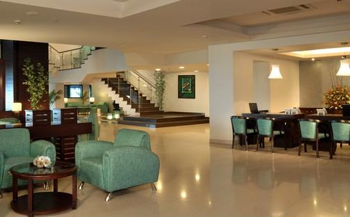 Lobby of Fortune Resort Grace, Mussoorie