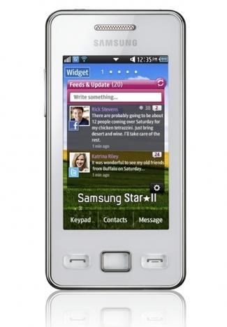samsung-Star-2- front view