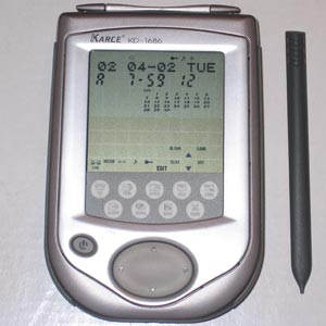 Palmtop PDA With 512KB