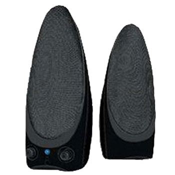 iBall Black Stereo Speakers-i2 - 460