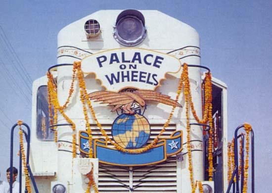 View of the Palace on Wheels