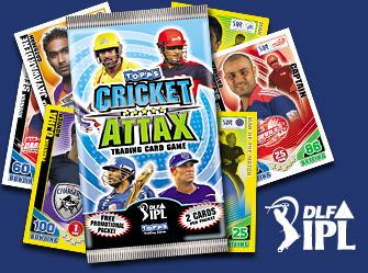 IPL Cricket Attax card game