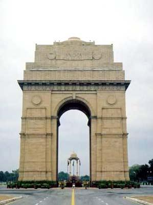 View of the India Gate New Delhi