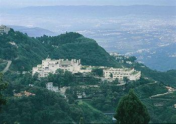 Aerial View of the Jaypee Residency Manor, Mussoorie