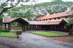 View of the Kabini River Lodge