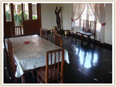 Dining Hall of the Gabadi Homestay