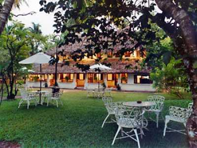 Front view of the Marari Beach Resort