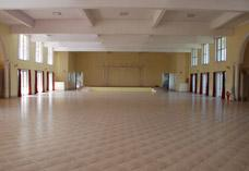 Banquet hall of Hotel Crystal Court, Madikeri