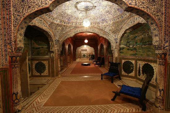 Durbar Hall at Samode Palace, Jaipur