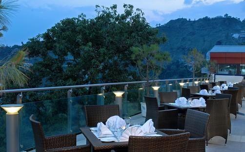 Terrace Restaurant of Fortune Resort Grace, Mussoo