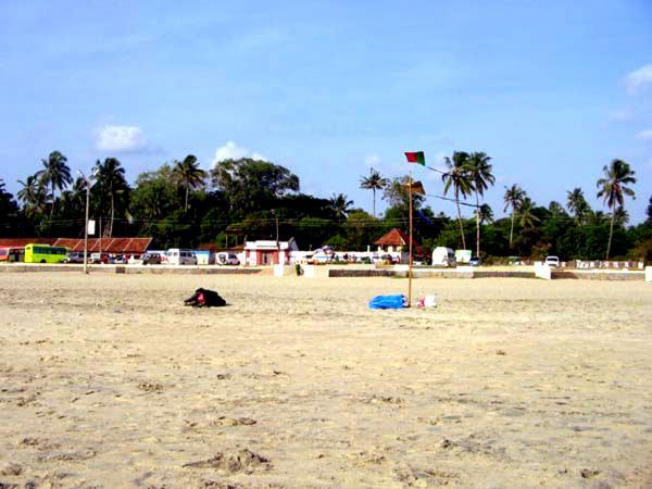 Another view of the Alappuzha Beach