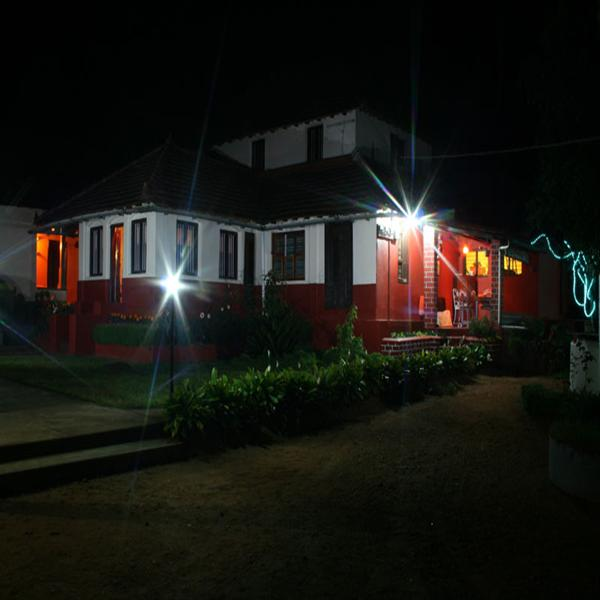 The Jade in Coorg by the night view