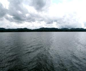 Dumboor lake in Tripura