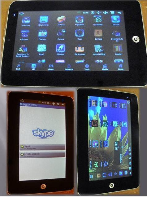 Android 2,2 Tablet PC