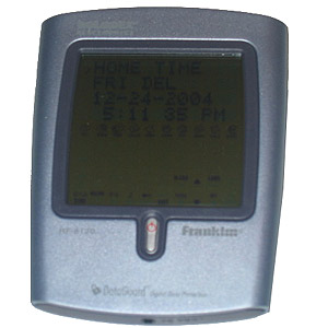 ROLODEX PDA - 384KB With PC Hook