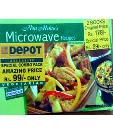 Veg Combo Pack (Microwave Vegetarian Recipes and R